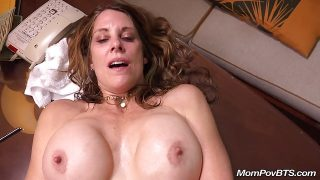 Cougar is fucked Behind The Scenes