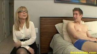 Nina Hartley sexy Milf Fucking with White Boy