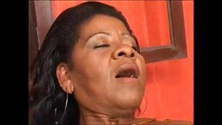 Old black mom Brazilian crown