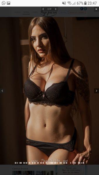 Aline Faria Streamer Ensaio Sensual Fotos