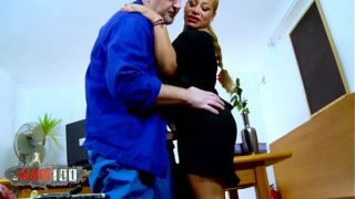 Mature spanish Milf gets fucked in the ass and …