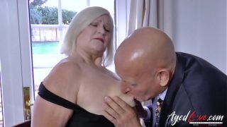 AgedLovE Businessman Came a Fuck Busty Mature