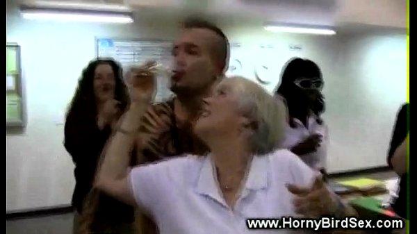Amateur office milfs blowing cock