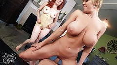 MOM MADE ME IMPREGNATE AUNT DEE -DEE WILLIAMS & LADY FYRE